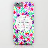 Flowers In My Hair iPhone 6 Slim Case