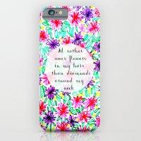 Flowers In My Hair iPhone 6 Slim Case