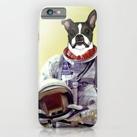iPhone & iPod Case featuring Space Dog by Adam Doyle