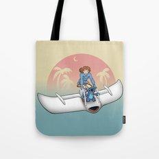 Nobody Gets Left Behind Tote Bag