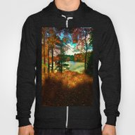 Trees And Shadows In New… Hoody