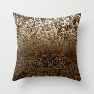 Caramelized Chocolate Br… Throw Pillow