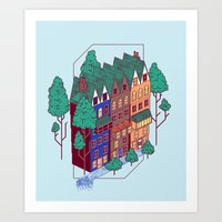 Dutch Art Print
