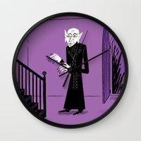 The Halloween Series - N… Wall Clock