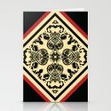 Victorian Goth Print Stationery Cards