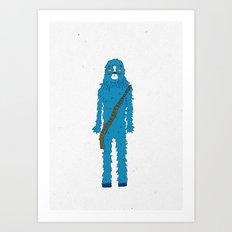 Bluebacca  Art Print