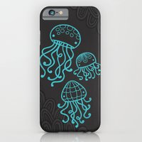 iPhone & iPod Case featuring Jellyfish by Liz Urso