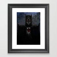 Dark Paradox Framed Art Print