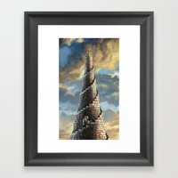 TOWER OF MABEL Framed Art Print