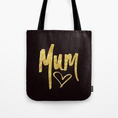 Mum Handwritten Type Tote Bag