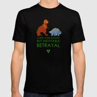 Firefly Betrayal Mens Fitted Tee Black SMALL