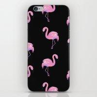 Flamingoes Everywhere!!! iPhone & iPod Skin