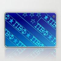 Pi Beta Phi, All Blue Laptop & iPad Skin