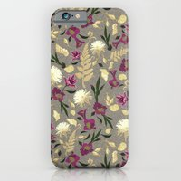 Flowers & Sea Shells iPhone 6 Slim Case