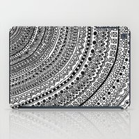 Black Pulse o1. iPad Case