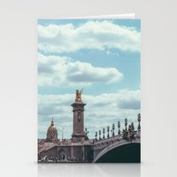 Pont Alexandre III, Pari… Stationery Cards