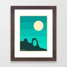 ARCHES NATIONAL PARK Framed Art Print