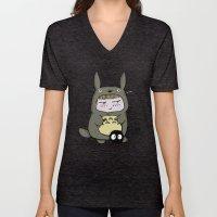 I am Totoro Unisex V-Neck