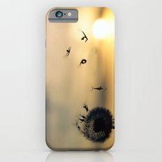 Sunset Dandelion Blows Slim Case iPhone 6s