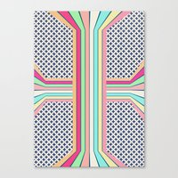 pop cross Canvas Print