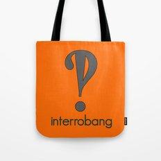 Interrobang, Serif Tote Bag