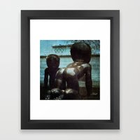 Alien Babies - Prague Framed Art Print