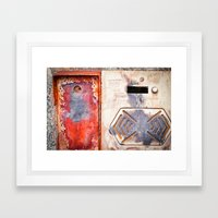 Rotten Intercom Framed Art Print