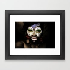 bleuGRN Framed Art Print