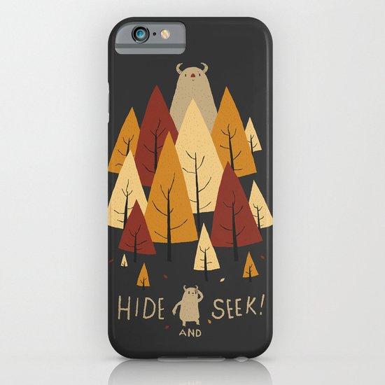 hide and seek iPhone & iPod Case