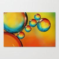 Bubble Drops II Canvas Print