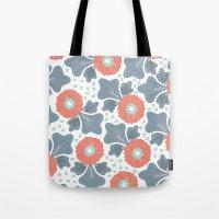 Flowers & Leaves Tote Bag