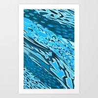 Water Skinning Art Print