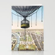 Panorama De Paris Stationery Cards