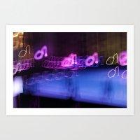 Ibiza Vibes - JUSTART © Art Print