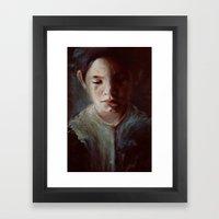 Untitled (dear God) Framed Art Print