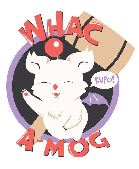 Whac-A-Mog Art Print