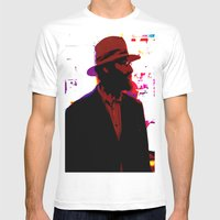 Cotton Club Rabbi's Day … Mens Fitted Tee White SMALL