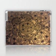 Mandala in Gold Laptop & iPad Skin