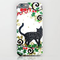Christmas Cat iPhone 6 Slim Case