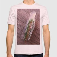 Green In Ice Mens Fitted Tee Light Pink SMALL