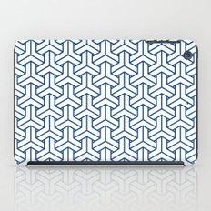 bishamon in monaco blue iPad Case