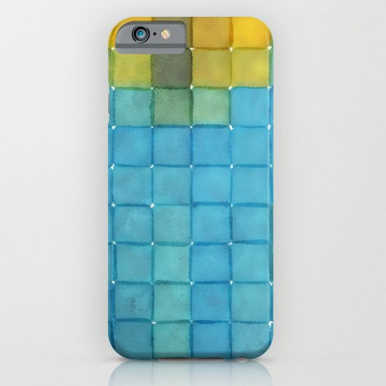 Polaroid Pixels I (Flower) iPhone & iPod Case