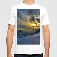 Glen Alps  Mens Fitted Tee White SMALL