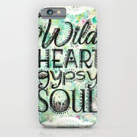Wild Heart, Gypsy Soul iPhone 6 Slim Case