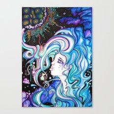 Its gettin heavy Canvas Print