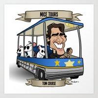 Mice Tours (Tom Cruise) Art Print
