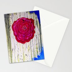 Dripping Dog Rose Stationery Cards
