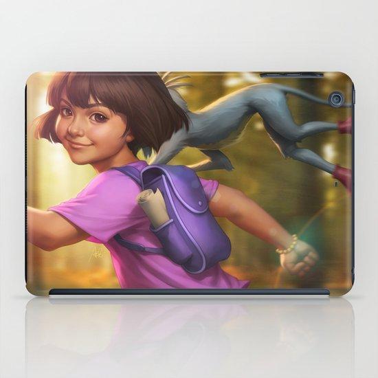 The Little Explorer iPad Case