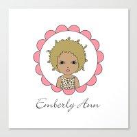 Emberly Ann Canvas Print