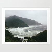 Pacific Storm Art Print